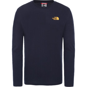 The North Face Rogue Graphic LS Tee Men, aviator navy